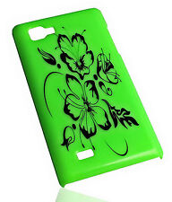 Design No.1 Hard Back Handy Cover für LG P880 Optimus 4X HD + Displayschutzfolie