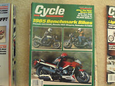 1985 Used Cycle Magazines Assortment (Not Whole Year)