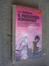COSMO ARGENTO # 229 - JOE HALDEMAN - IL PARADOSSO DI HEMINGWAY - NORD -LIB56