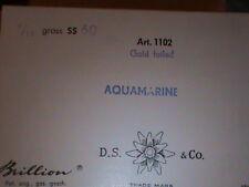 FULL BOX Big 14 MM Swarovski Crystal Rhinestones SS 60 Aquamarine Brillion