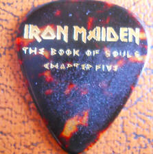 Official Janick Gers IRON MAIDEN Book of Souls Ch:5 2017 Tour GUITAR PICK