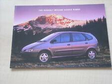 52239) Renault Megane Scenic UK Prospekt 04/1997