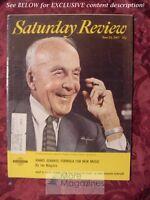Saturday Review June 24 1967 ARCHIBALD MacLEISH IANNIS XENAKIS HARRISON BROWN