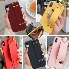For Iphone 12 11 Pro Max 8 Plus XS Max XR Wrist Strap Girl Cute Phone Case Cover