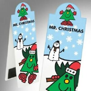 That Company Called If MR. CHRISTMAS Magnetic Bookmark Mr Men Series🎅🔖🎅