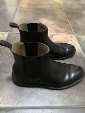 Polo Ralph Lauren Newent Chelsea Black Leather 11 D