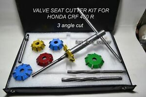 CARBIDE TIPPED VALVE SEAT CUTTER SET FOR HONDA XR 250 R 1998 MODEL