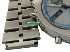 20mm Fishbone Solid Stainless Steel Replacement Bracelet For 6139-8020 Chrono