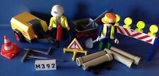 (M392) playmobil Set chantier routes ref