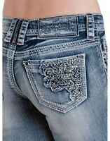 HYDRAULIC Capri Jeans Crafted Hydraulic Gramercy Crop Pocket detail Embellished