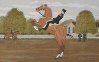 Haddelsey Vincent : die Kavallerie - Lithografie Originell Unterzeichnet #100ex