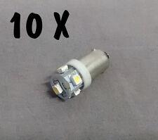 N. 10 LED LAMPE LIGHT BULBS TYPE GE44 6,3V 5SMD FOR ALL FLIPPER PINBALL