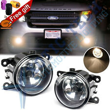 For Ford Explorer Fusion 2x Fog Light Lamps with H11 Bulbs Driver Passenger Side