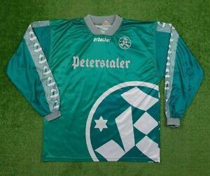 """Stuttgarter Kickers Original Erbacher Trikot 1994/95 """"Peterstaler"""" Gr.XL TOP"""