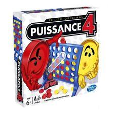 Puissance 4 jeu de société amusant enfants famille 2 joueurs cadeau 6 et plus