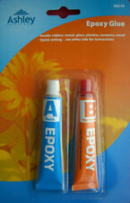 Epoxy Glue Adhesive Clear Strong 2 Part Resin Plastic Ceramic Glass Rubber Metal