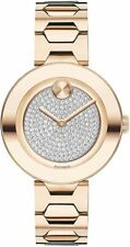 MOVADO Bold Pave Crystal Dial Ladies Watch 3600493 ($795)