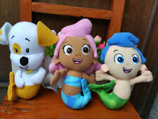 New Fisher Nickelodeon BUBBLE GUPPIES GIL MOLLY & PUPPY & BRAND Plush Toy 3pcs