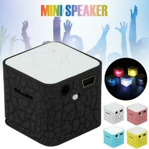 Mini Portable MP3 Music Player FM Radio Speaker Support  Rechargeable