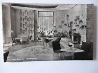 Ansichtskarte Hotel Badersee Wintergarten 50er Jahre Möbel Einrichtung (Nr.701)