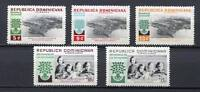 27923) Dominican Rep.1960 MNH New Refugees 5v