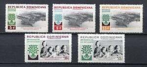 27923) Dominicana Rep. 1960 MNH Nuevo Refugees 5v