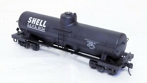 Williams Reproductions Single Dome Tank Car - SHELL - 2-Rail - Brass [h]