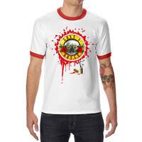 Guns N' Roses Cotton Cool Men's T-shirts Funny Short Sleeve Tops Tee shirts