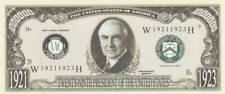 Bankbiljet billet Amerikaanse presidenten - 29 - Warren G. Harding 1921/1923