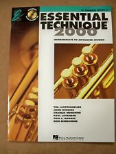Essential Elements 2000 Bb Trumpet Book 3 Cd Included