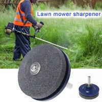 Lawn Mower Faster Blade Sharpener Grinding Power Drill Garden Tool Universal