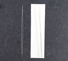 3 x Flexible Big Eye Beading Needles 5 Inches Long (125mm x 0.6mm)  - UK Seller