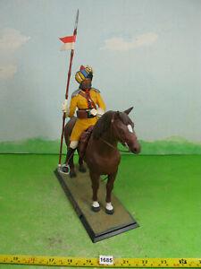 vintage airfix model kit built bengal lancer 1901 plastic figure 1/12 1685
