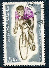 STAMP / TIMBRE FRANCE OBLITERE N° 1724 SPORT / CHAMPIONNATS CYCLISTES
