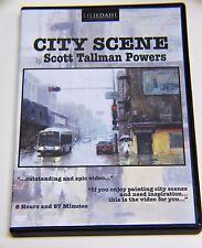 Scott Tallman Powers: City Scene - Art Instruction DVD