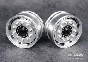 Front Wheel Metal Hub B2 for 1/14 Scale LESU RC  Axle Truck Bearing Brake DIY
