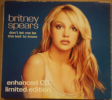 Britney Spears ‎– Don't Let Me Be The Last To Know CD single Enhanced Limited UK