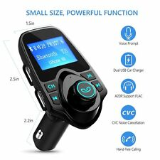 Bluetooth Car Kit FM Transmitter Radio Adapter USB Charger Handsfree For iPhnoe7