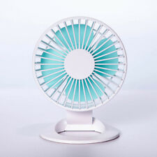 Mini Fan For Office Home Desk Small Quiet 3- Speeds USB Powered Fans Portable US