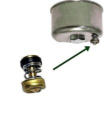 Carburettor Bowl Drain Valve, Qualcast Suffolk Punch 30s, 35s, 43s,  A114 CP10