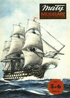 "PAPER-CARD MODEL KIT-MALY MODELARZ - H.M.S.""VICTORY"""