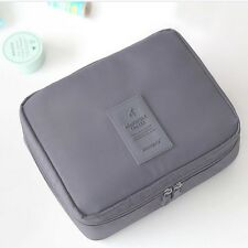 NEW Double Layers Travel Trip Camping Gym Makeup Cosmetic Toiletry Wash Kit Bag