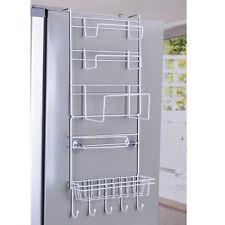 Multifonctions  Porte-étagère de Réfrigérateur Rayonnage de Stockage Suspendu