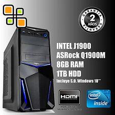 Ordenador de sobremesa PC Intel Q1900M 9.6 GHz + 8GB RAM + 1TB HDD / HDMI