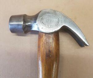 Vintage Brades 1LB Hammer Old Carpentry Woodworking Claw Hammer