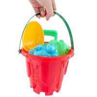 7Pcs Sandbeach Kids Beach Toys Gift Castle Bucket Spade Shovel Rake Water Tools