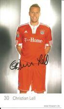 FC Bayern München Autogrammkarte Christian Lell