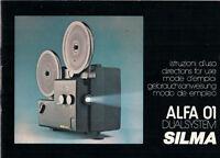 SILMA ALFA 01 Dualsystem - Gebrauchsanweisung B1827