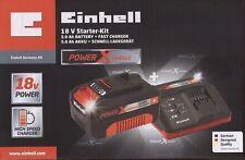 ◉NEU  OVP ◉ EINHELL POWER X-CHANGE 18V STARTER KIT ◉3,0 AH AKKU + LADEGERÄT◉