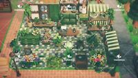 Animal Crossing:New Horizons Botanical Green Garden Room 67PCS SET+ QR CODE!
